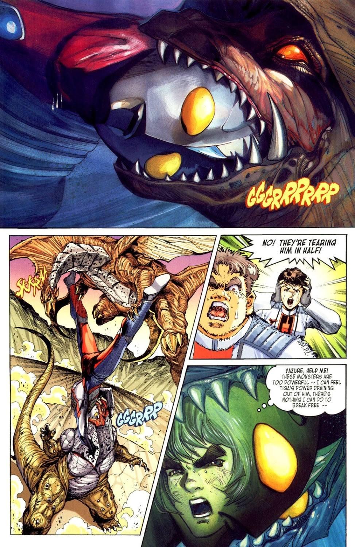 Ultraman Tiga Return of the Warrior review